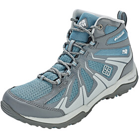 Columbia Peakfreak XCRSN II XCEL Mid Outdry Shoes Women Cloudburst/Silver Grey